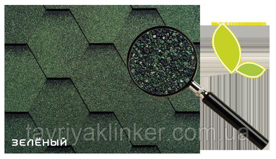 Битумная черепица RUFLEX МINT Sota Зеленый, 3м2