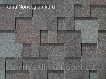 Бітумна черепиця RUFLEX Runa Норвезький Фіорд, 3м2