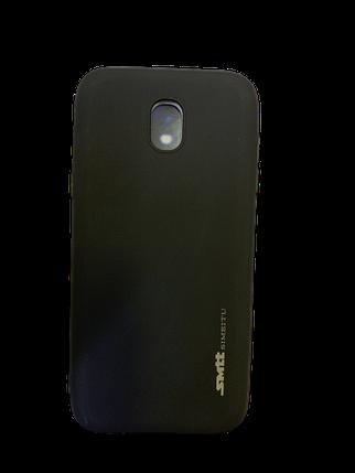 Защитный чехол-накладка smtt Soft Touch на Samsung J530 Черный, фото 2
