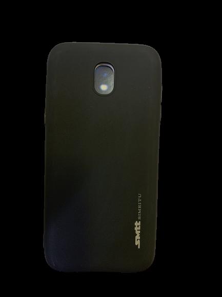 Защитный чехол-накладка smtt Soft Touch на Samsung J530 Черный