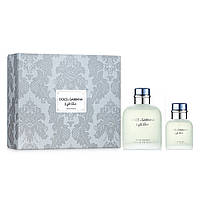 Набор (edt/125ml + edt/40ml) Dolce&Gabbana Light Blue Pour Homme (3423478414556)