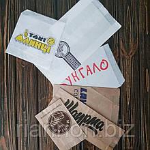 Бумажные пакеты саше для фаст-фудов