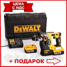 Перфоратор аккумуляторный DeWALT DCH273P2  бесщёточный, SDS-Plus, 18 В, 2.1 Дж, 3 режима, чемодан, вес 3.12 кг