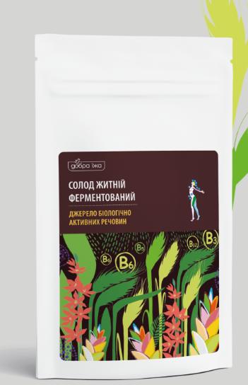 «Солод житній» тубус 300г - натуральний продукт оздоровчого дії