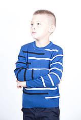 Светр дитячий вовняної TAIKO 34 35 36 37 38 синій