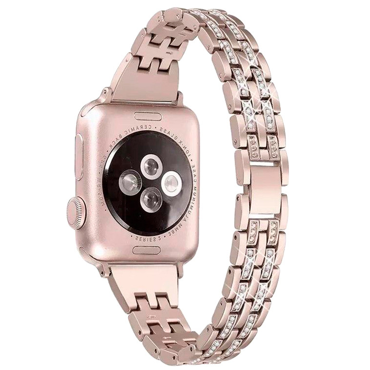 Ремешок Apple watch металлический 38/40 mm Розовое золото