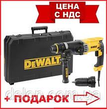 Перфоратор сетевой DeWALT D25144K, SDS-Plus, 900 Вт, 3.2 Дж, 3 режима, чемодан, вес 3.1 кг