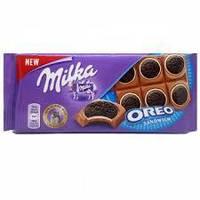 Шоколад Milka Oreo Sandwich, 100 г