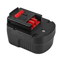Аккумулятор для шуруповерта Black&Decker A12, A12E, A12EX, A12-XJ, FS120B (HPB12) 2.0Ah 12 Вольт, 12V