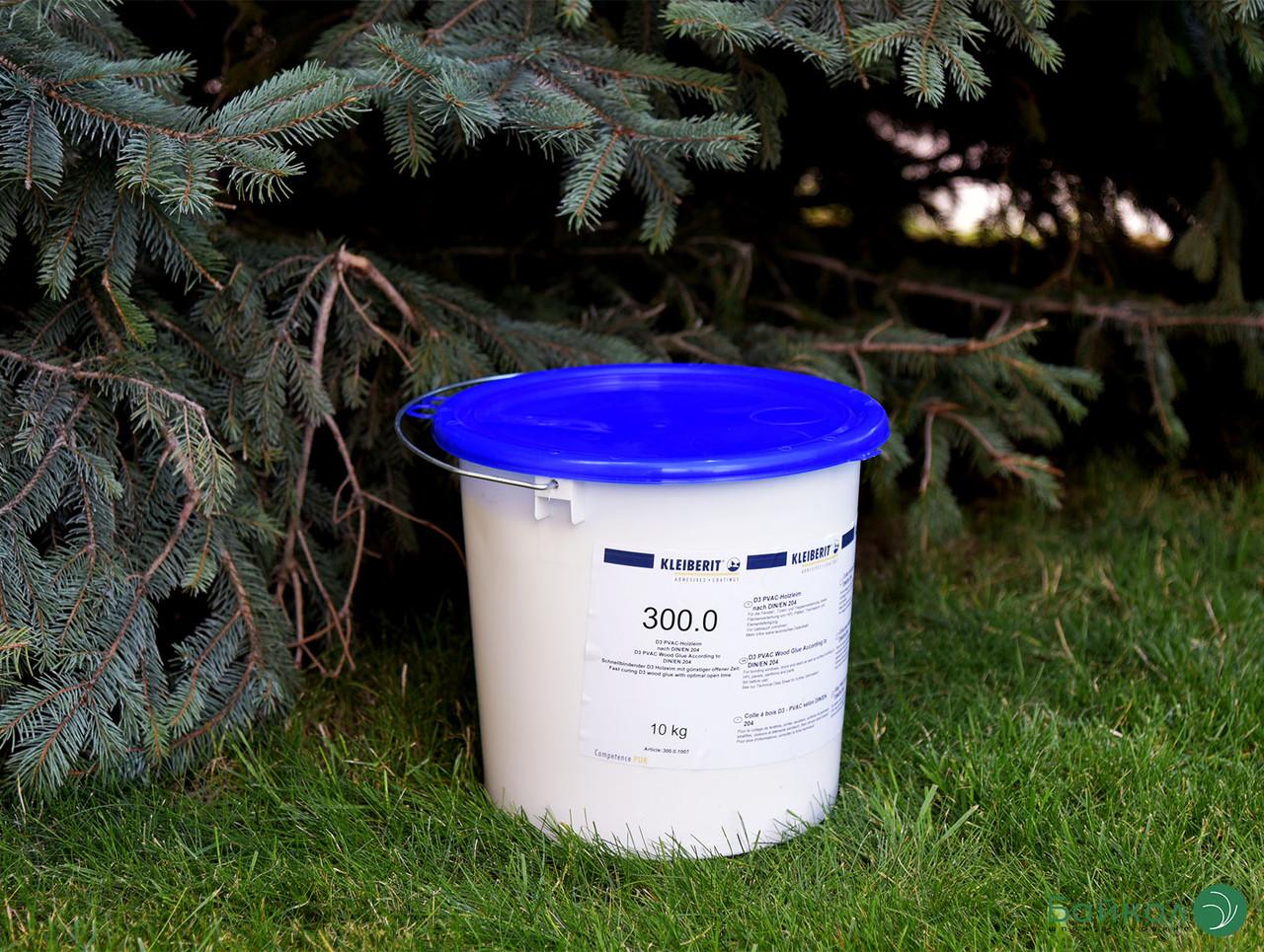 KLEIBERIT 300.0 водостійкий столярний клей ПВА D3 (відро 10 кг)