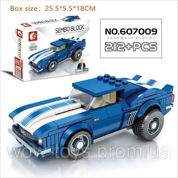 Купить Конструктор 607009 машинка, супергерой, приключения, аналог конструктора лего, для мальчиков.