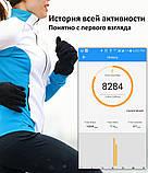 Фитнес браслет здоровье с тонометром давление крови F07 max смарт кардио часы пульсоксиметр калории трекер сна, фото 5
