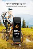 Фитнес браслет здоровье с тонометром давление крови F07 max смарт кардио часы пульсоксиметр калории трекер сна, фото 6