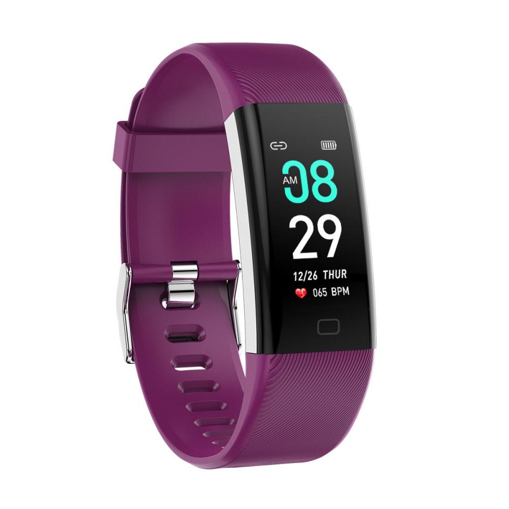Часы с тонометром давление крови F07 max фитнес браслет здоровье iPhone Android трекер пульсометр калории сон