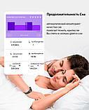 P3 Фитнес браслет тонометр давление крови ЭКГ кардио пульсометр для iPhone Android с HD дисплеем черно красный, фото 10