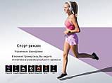 Фитнес браслет V11 тонометр давление крови закаленное стекло умные часы пульсометр водонепроницаемый трекер, фото 8
