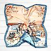 Шейный шелковый платок Fashion Камилла 70х70 см КС 20-099