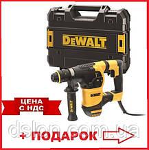 Перфоратор сетевой DeWALT D25334K, SDS-Plus, 950 Вт, 3.5 Дж, 3 режима, чемодан, вес 3.9 кг