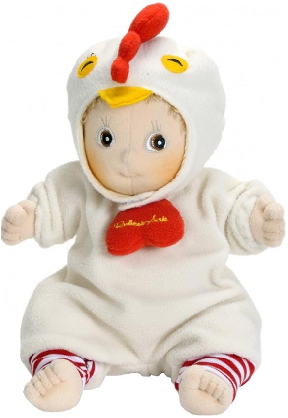 """Оригинальная флисовая кукла ручной работы Rubens Barn """"Петушок"""" (90035)"""