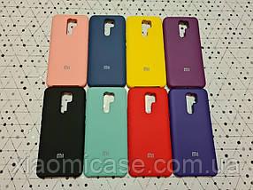 Брендовый SOFT-TOUCH чехол SILICONE COVER для Xiaomi (Ксиоми) Redmi 9