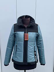 Жіноча демісезонна куртка стильна розміри 42-54