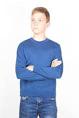 Светр для підлітка Поло ТАІКО 40 42 44 синій