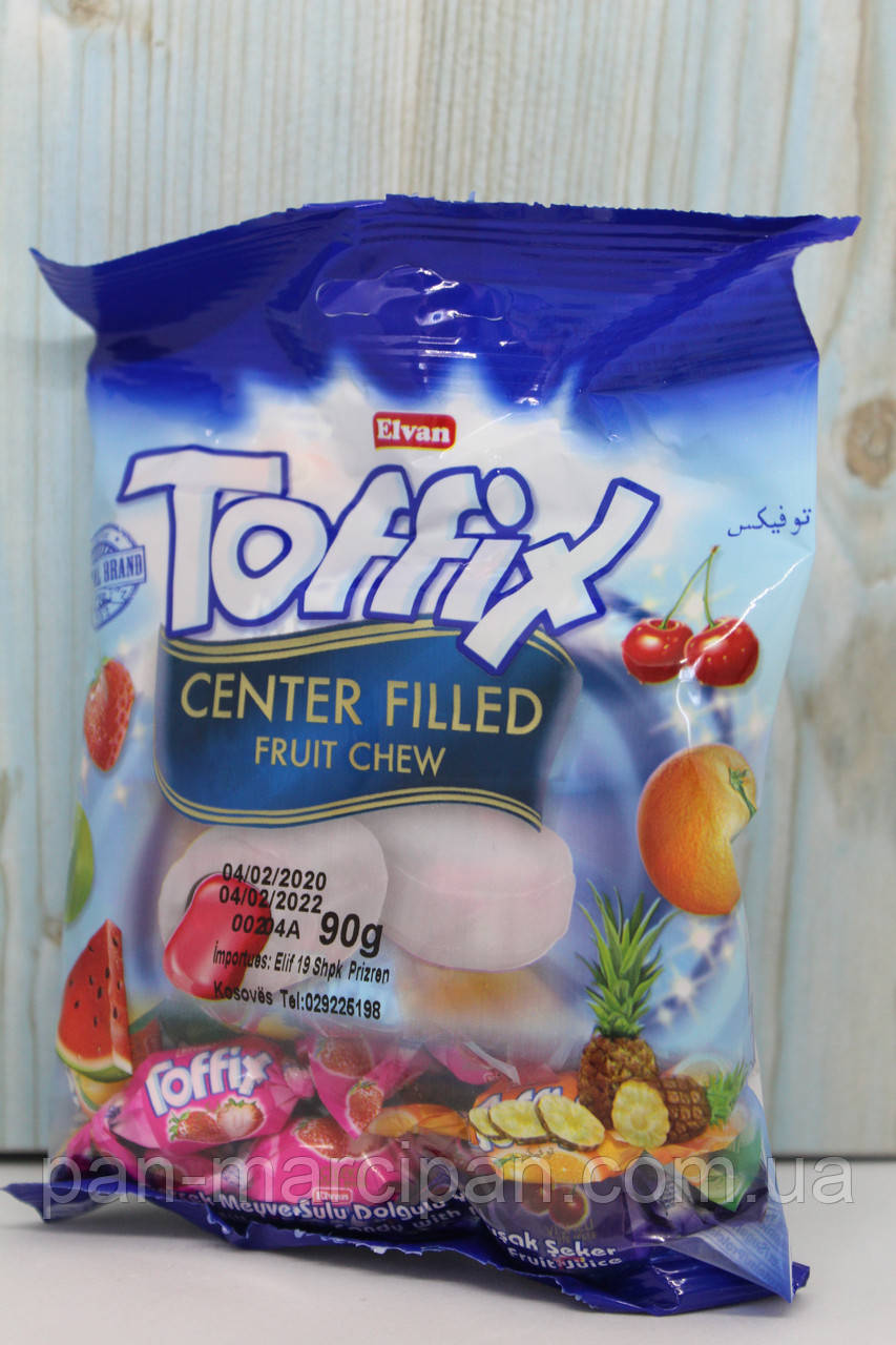 Цукерки  Toffix Center Filled 90g