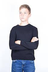 Светр для підлітка Поло ТАІКО 40 42 44 чорний
