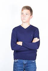 Светр для підлітка Поло ТАІКО 40 42 44 темно синій