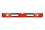 Уровень строительный STAR TOOL 1000 мм, окрашенный, 3 капсулы, 2 ручки, фото 3