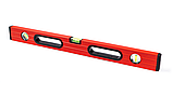 Уровень строительный STAR TOOL 1000 мм, окрашенный, 3 капсулы, 2 ручки, фото 4