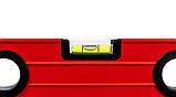 Уровень строительный STAR TOOL 1000 мм, окрашенный, 3 капсулы, 2 ручки, фото 6