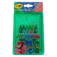 Набор для творчества Crayola PJ Masks с раскрасками и смываемыми восковыми мелками (04-0440)