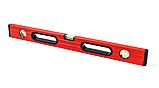 Уровень строительный STAR TOOL 1200 мм, окрашенный, 3 капсулы, 2 ручки, фото 2