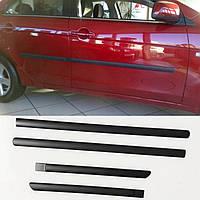 Молдинги на двері для Mitsubishi Lancer X 2007-2017, фото 1