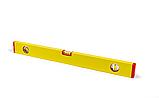 Рівень будівельний STAR TOOL ECO 600 мм, пофарбований, 3 капсули, без ручок, фото 2