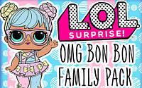 Новинка от MGA 2020 - LOL Surprise OMG Bon Bon Family Pack