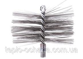 Щетка для чистки дымохода стальная под резьбу (120 мм-500 мм), фото 2