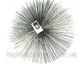 Щетка для чистки дымохода стальная под резьбу (120 мм-500 мм), фото 3