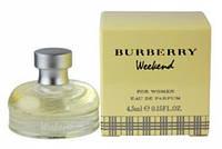 BURBERRY WEEKEND FOR WOMEN EDP 4,5 мл мини женская парфюмированная вода
