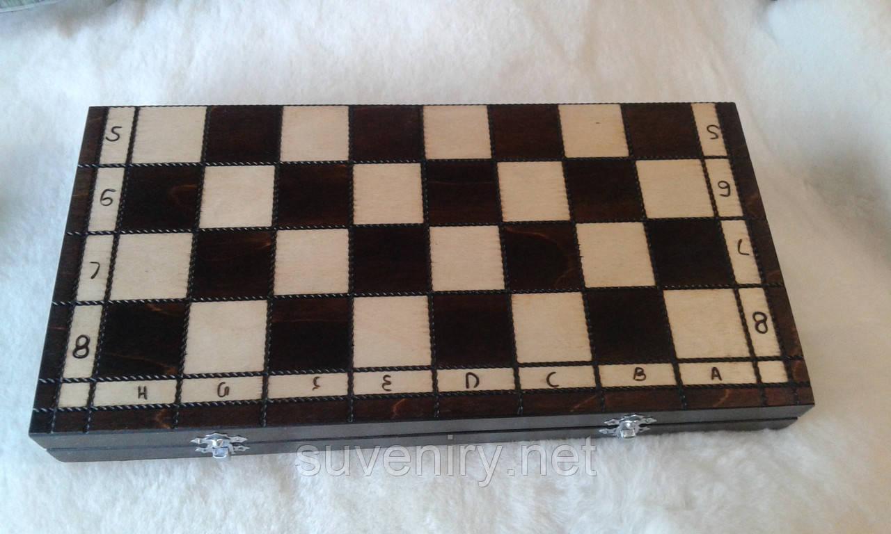 Деревянные шахматы 43*43