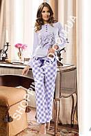 Женская пижама Shirly 5906, домашний костюм с брюками цена со склада