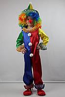Детский карнавальный костюм для мальчика Клоун на 5-6 лет, фото 1