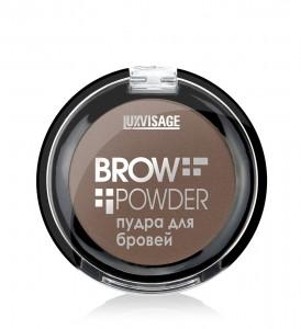 Пудра для бровей LUXVISAGE Brow powder, 04 тон