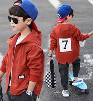 Дитяча осіння курточка для хлопчика / Детская одежда куртка для мальчиков весенне-осенняя, ветровка, кардиган