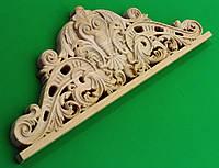 Код КОР6. Деревянный резной декор для мебели. Короны, фото 1