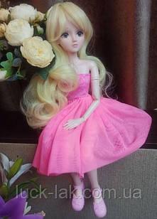 Шарнірна лялька Вероніка bjd автора ріст 60 см ,1 /3, одяг і взуття в подарунок