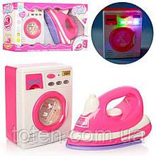 Набор детский утюг и стиральная машинка 6501