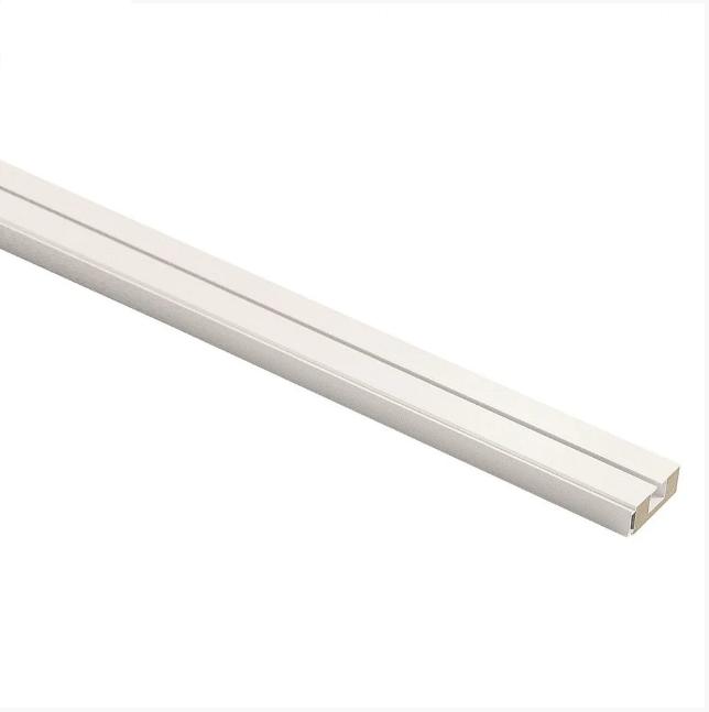 Карниз усиленный потолочный одинарный 1,50 метра (КСМ, КС), стоимость карниза за комплект.