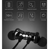 Наушники  Air XT15 беспроводные Bluetooth TWS со встроенным микрофоном  Спортивные на магните